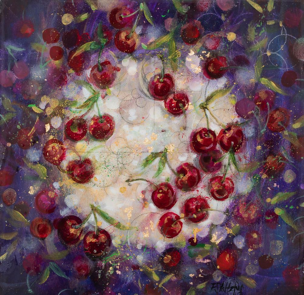 Cherries Art   Freiman Stoltzfus Gallery