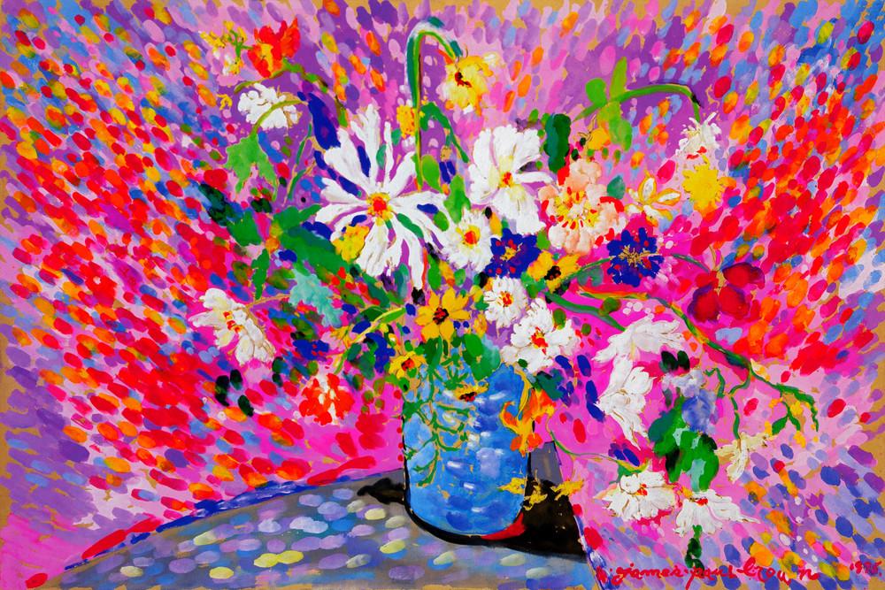 Flower Explosion Art | Artiste Winery & Tasting Studio