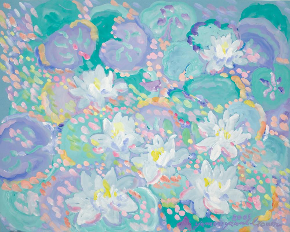 Lotus Flowers Art   Artiste Winery & Tasting Studio
