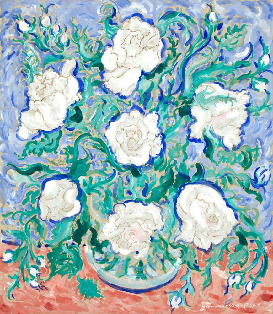 Rose Bouquet Ii Art | Artiste Winery & Tasting Studio