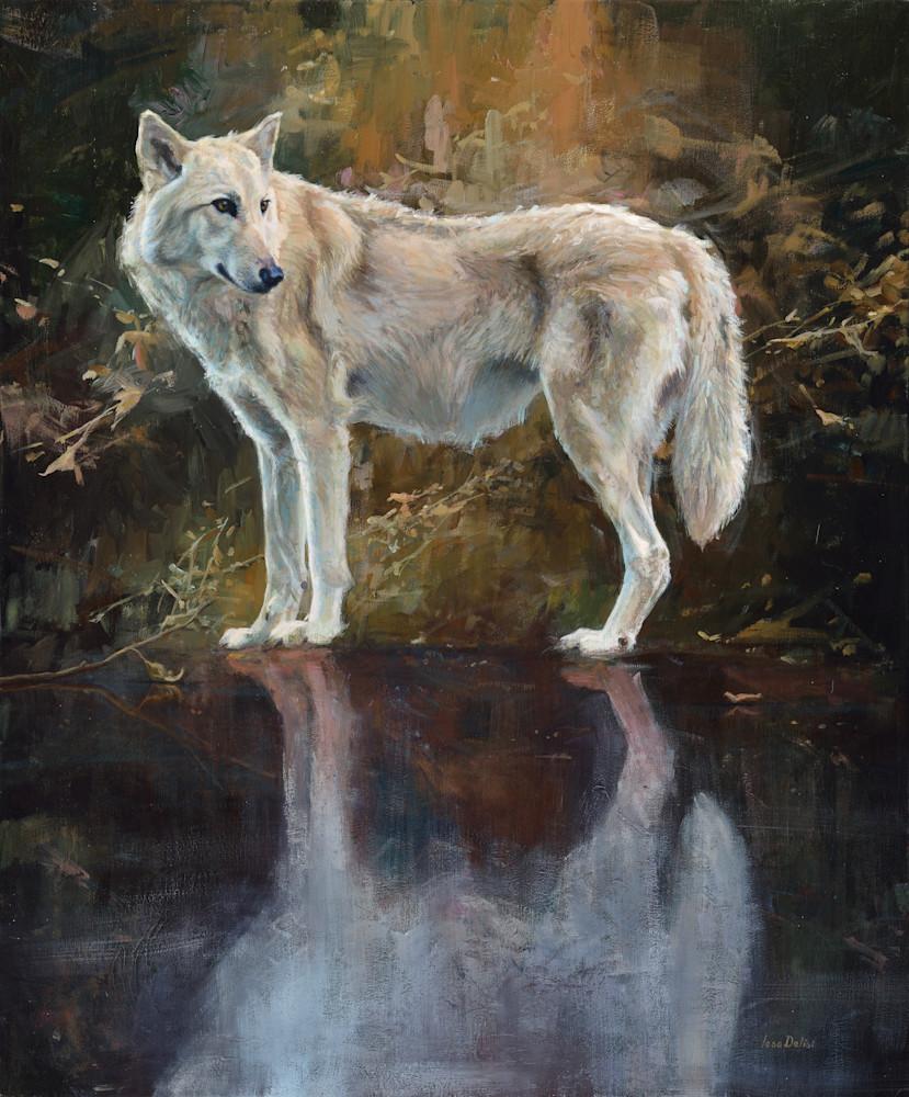 Black Ice Wolf