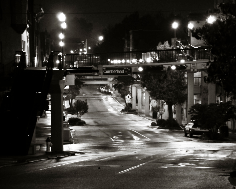 Morristown by night