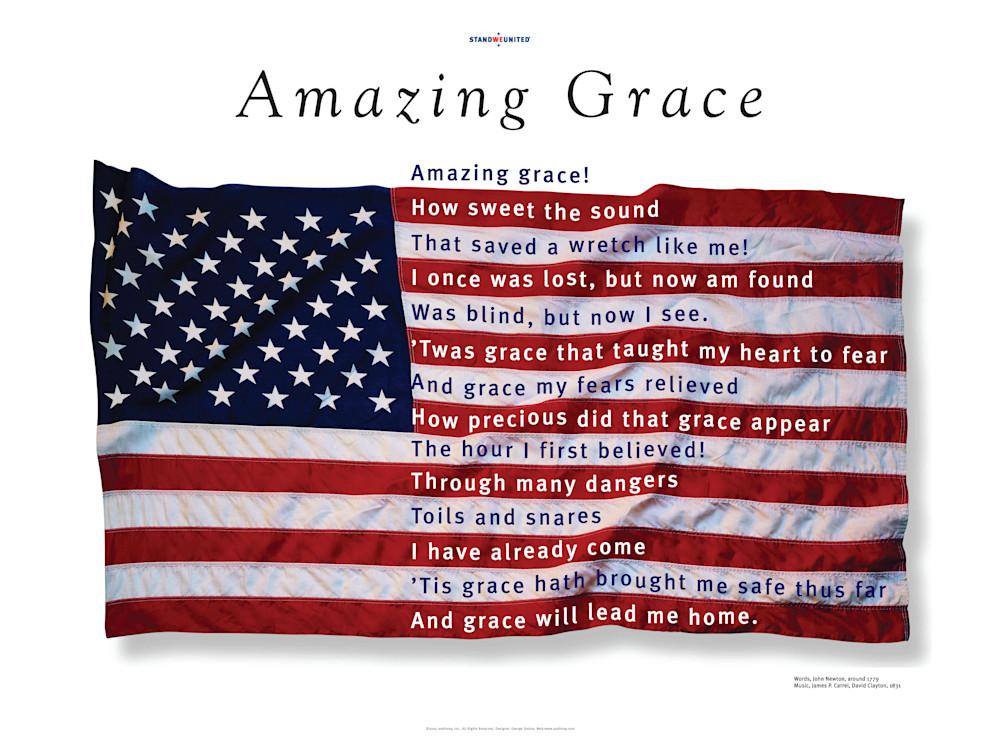 Amazing Grace Poster Print