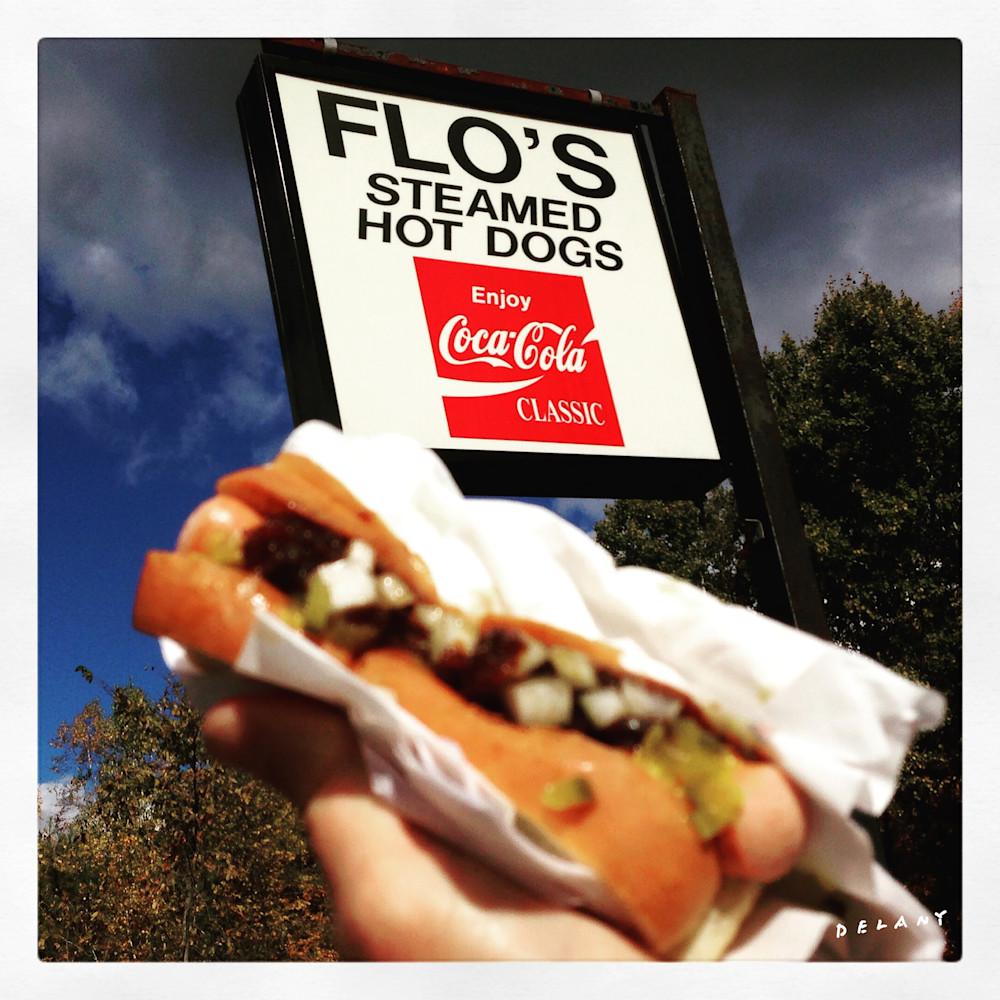 Flo's Hot Dogs Instagram Print