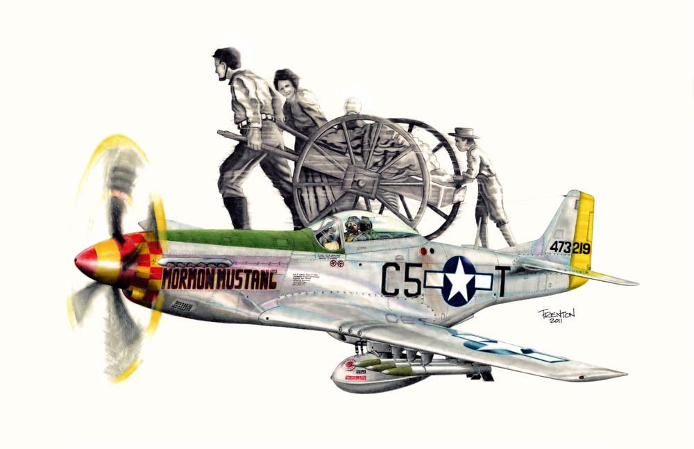 Mormon Mustang - Pioneering Heritage
