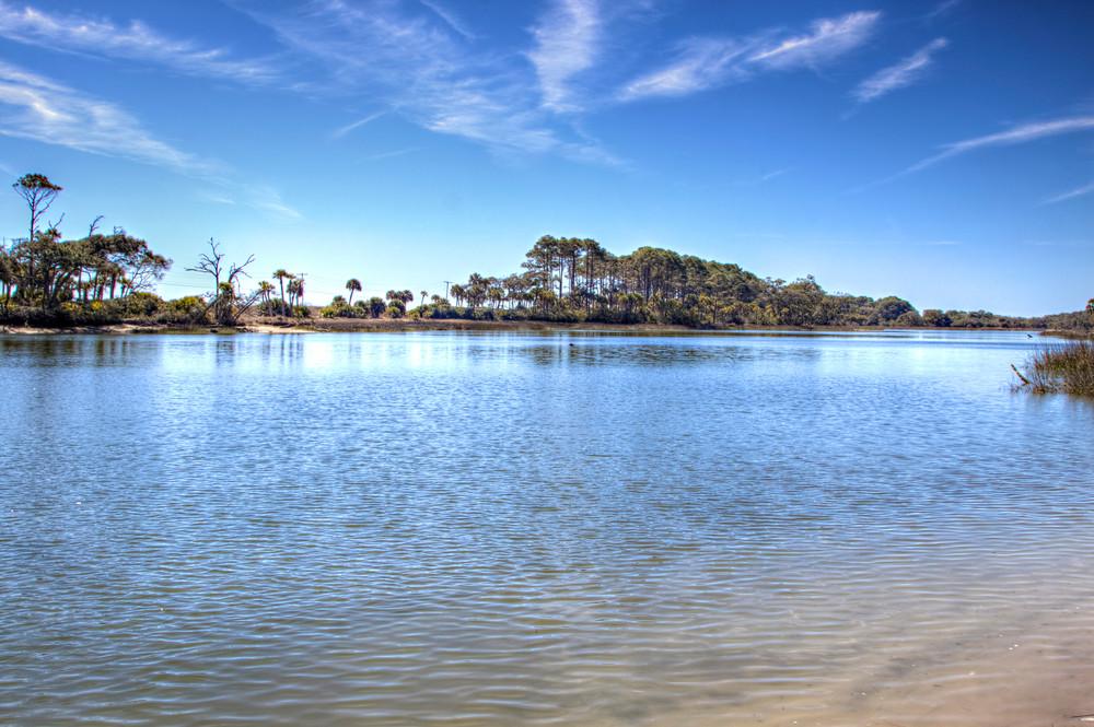 hunting island lagoon