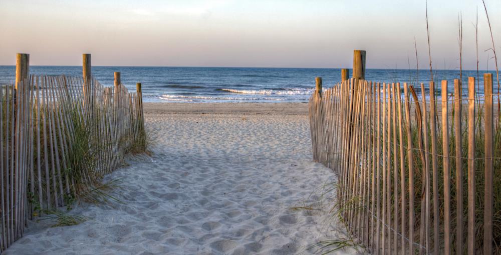 Heading To The Beach Art | Willard R Smith Photography