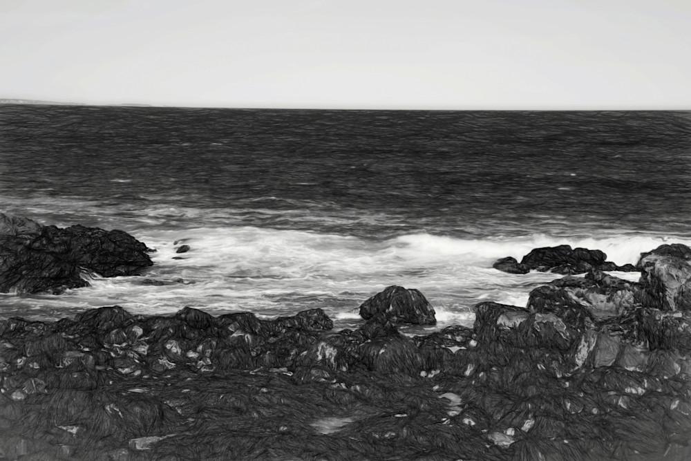 Watching The Waves Art   Peter J Schnabel Photography LLC