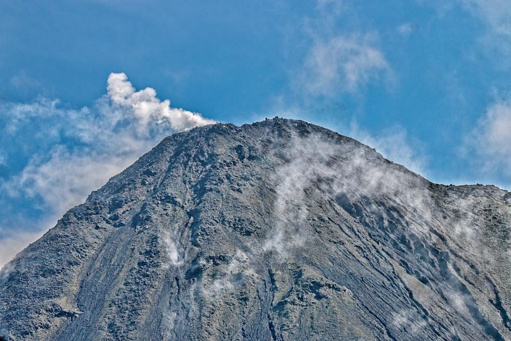 The Volcano smoke
