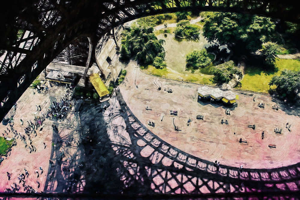 View From the Eiffel Tower Paris