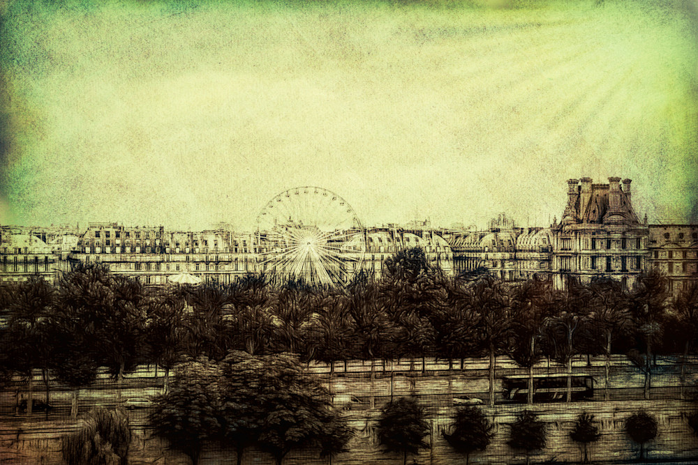 Ferris Wheel Paris France