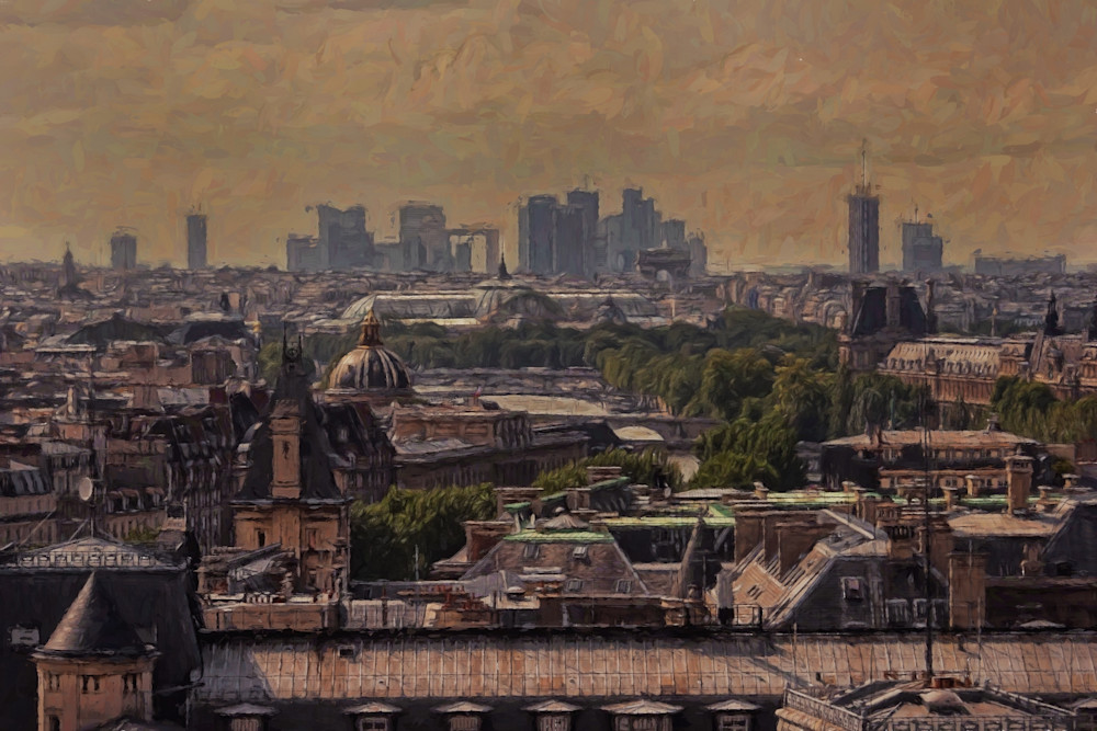 The Old City Of Paris Art   Peter J Schnabel Photography LLC