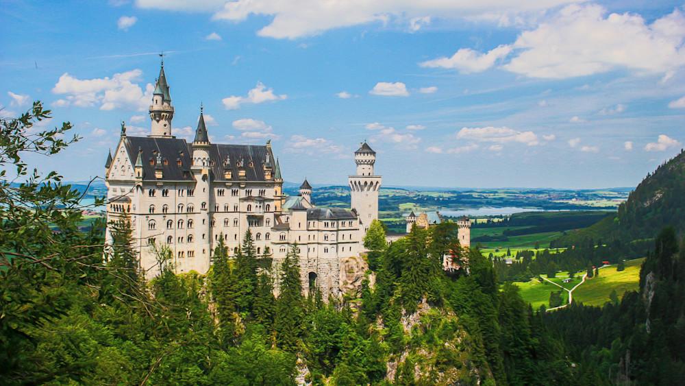 Neuschwanstein Castle Photography Art | Peter J Schnabel Photography LLC