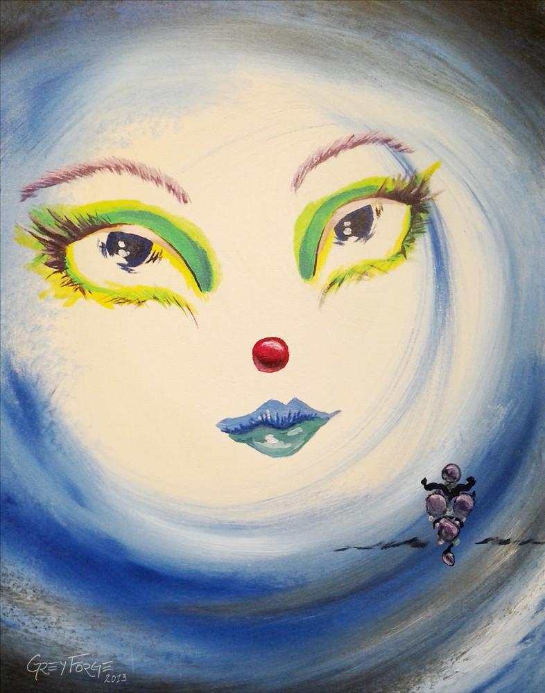 Kismet, oil, painting, fairy, magic, angel