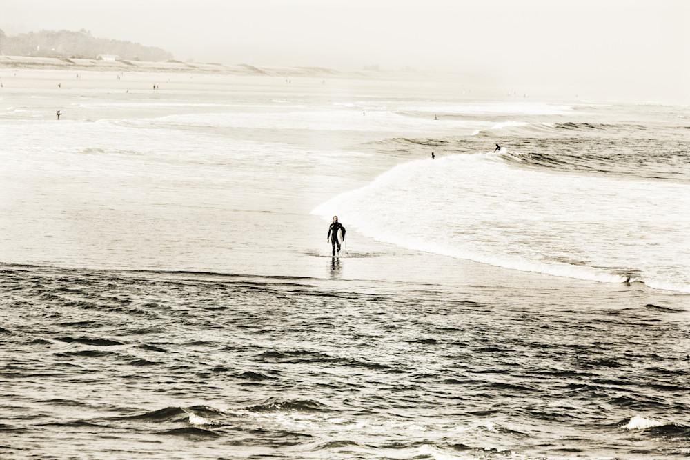 Maine Beach Surfers Photography Art | Peter J Schnabel Photography LLC