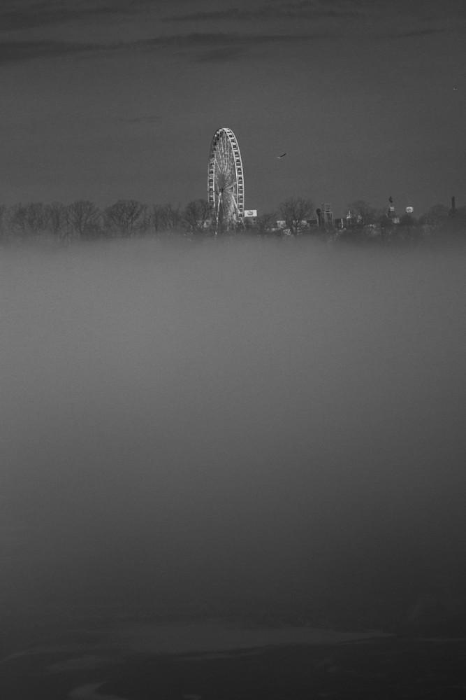 Foggy Morning Over Niagara Art | Peter J Schnabel Photography LLC