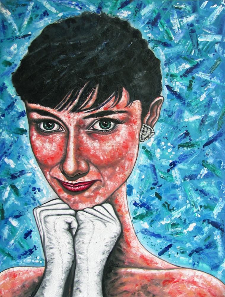 Audrey, Larger Than Life  Art | PMS Artwork