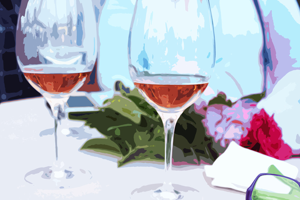 Rosé for Two