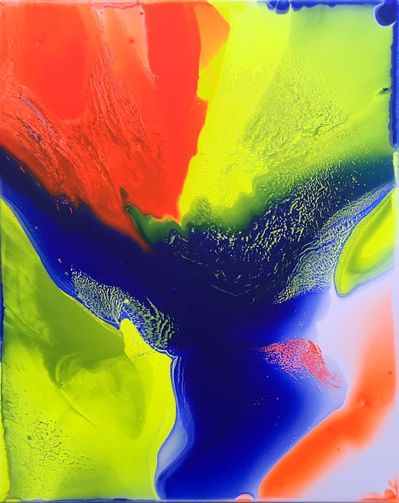 Swimming In The Fluorescent Future Art | PMS Artwork