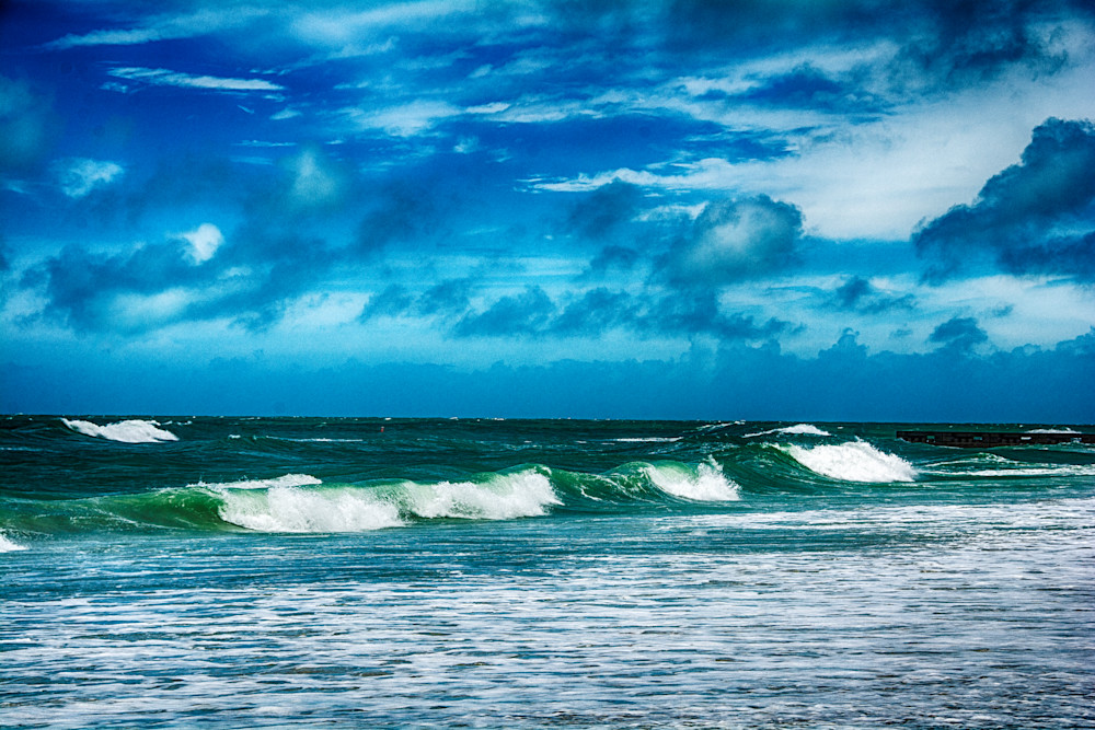 Stormy Surf Photography Art | Artist David Wilson