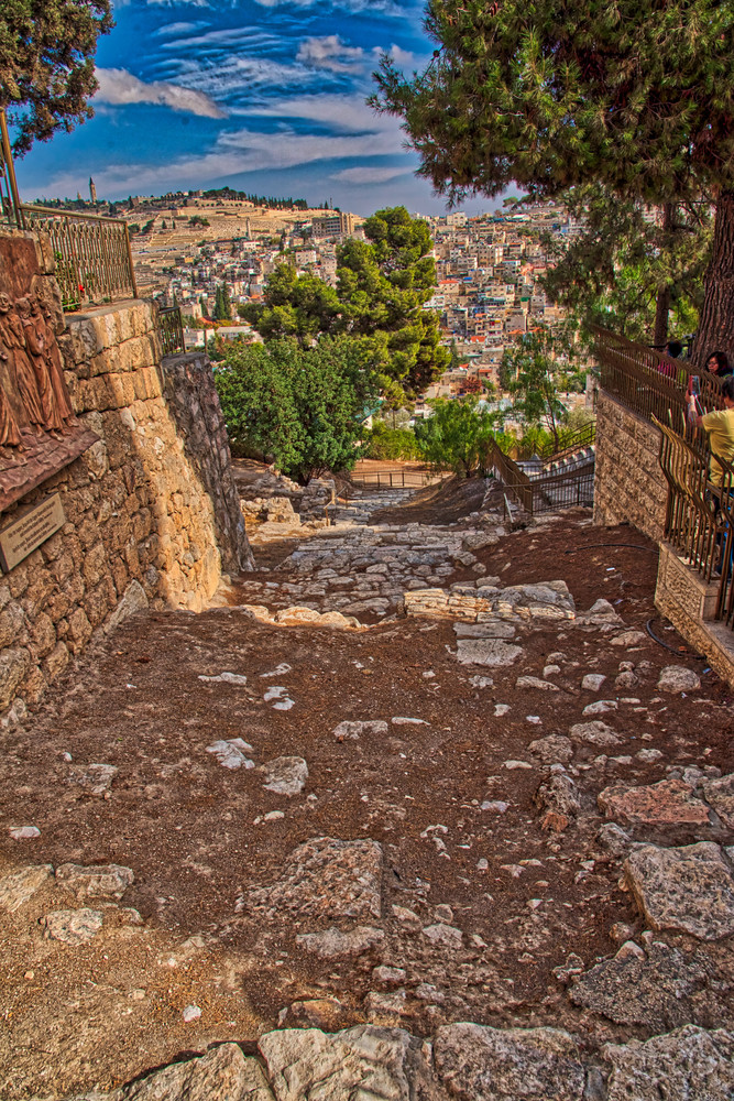 Steps to Caiaphas house