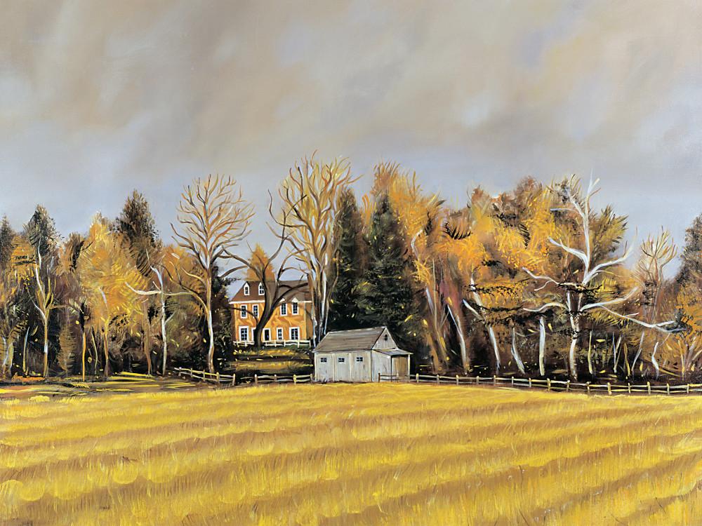 Barn And Field Art | Sandy Garnett Studio