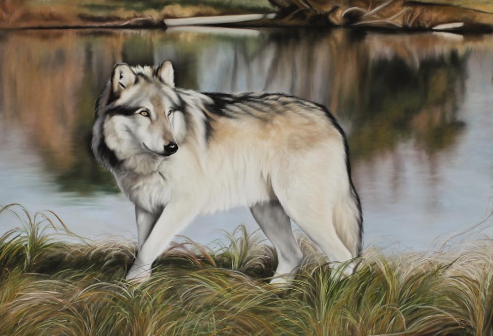 Nature's Mirror Art | Lauren Herr Fine Art