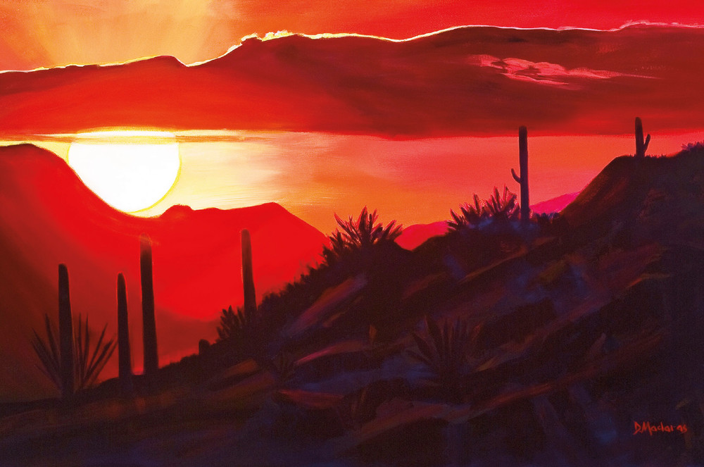 Howard's Sunset | Southwest Art Gallery Tucson | Madaras