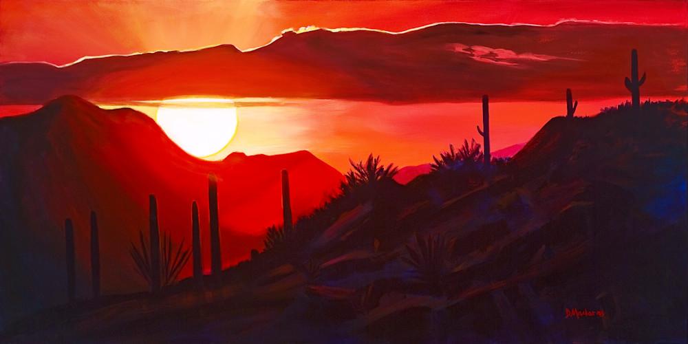Howard's Sunset Panorama  
