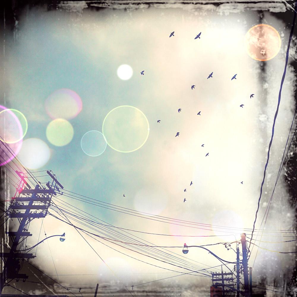 Toronto Blue Skies Photography Print/Jannet Haitas Artist