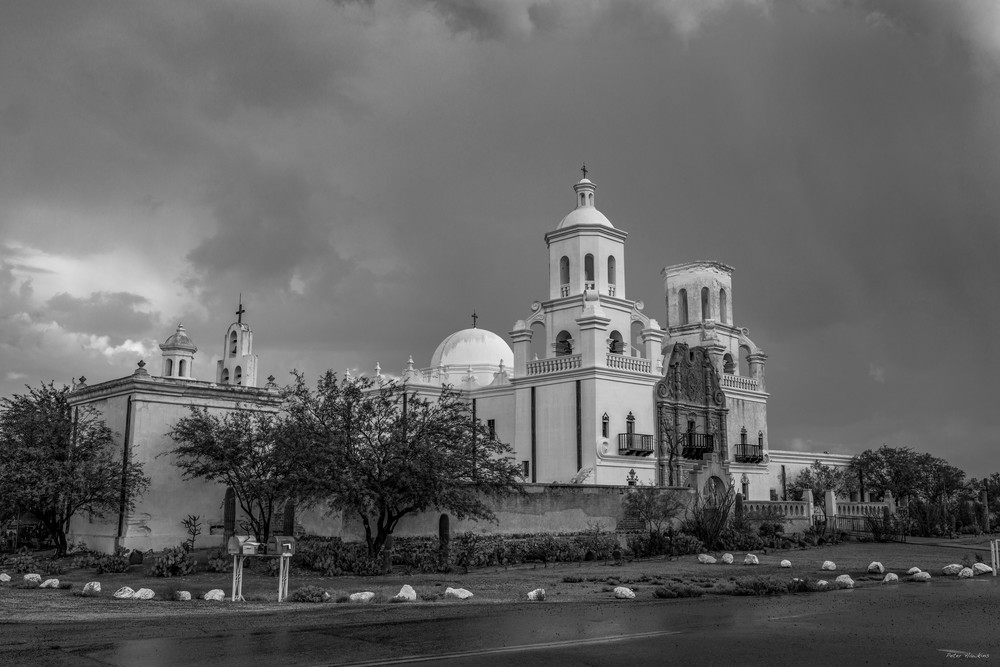 USA, Arizona, Tucson, Mission San Xavier del Bac