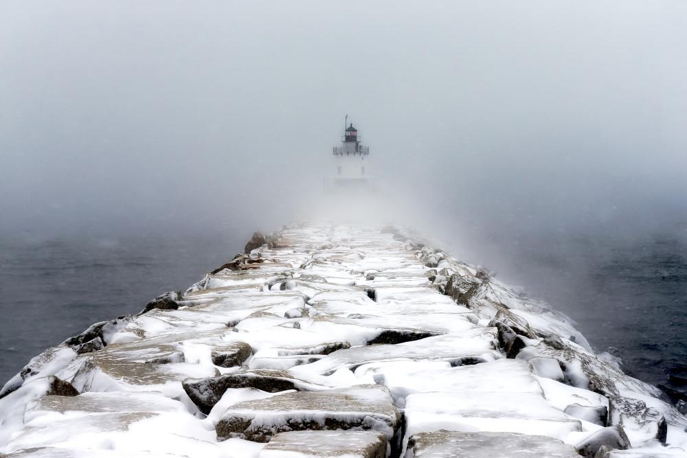 Maine Lighthouse Ocean Wall Art Prints | Robbie George