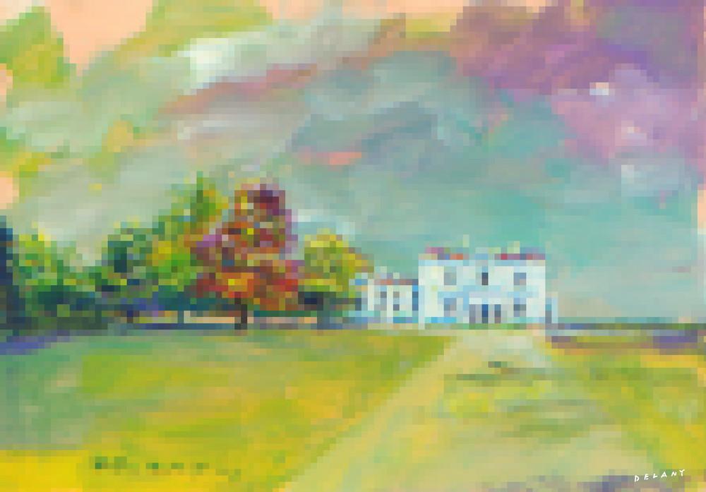 Astor Beechwood Mansion #1 Pixel Print