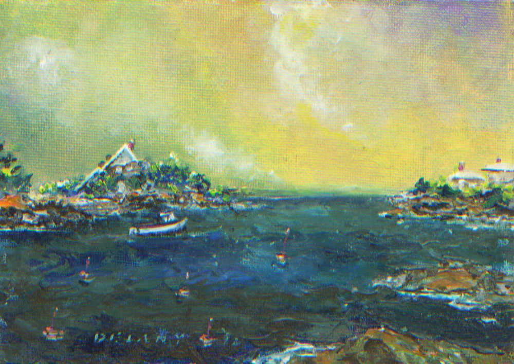 Ocean Drive #3 Art Print