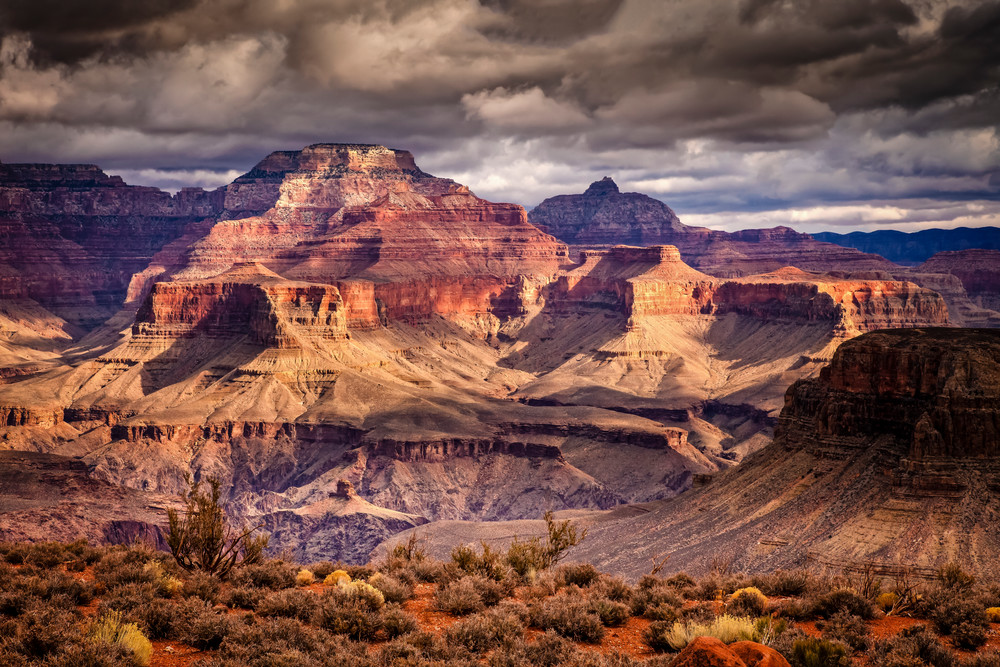 Grand Canyon View Art | Third Shutter from the Sun Photography