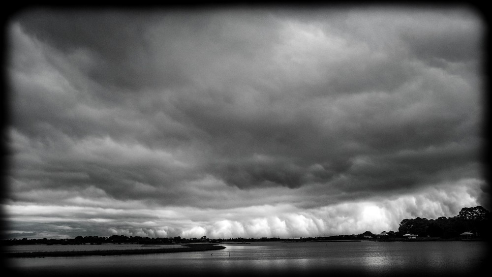 Storm Accross the Bay