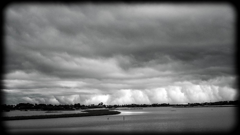 Storm across the bay #1