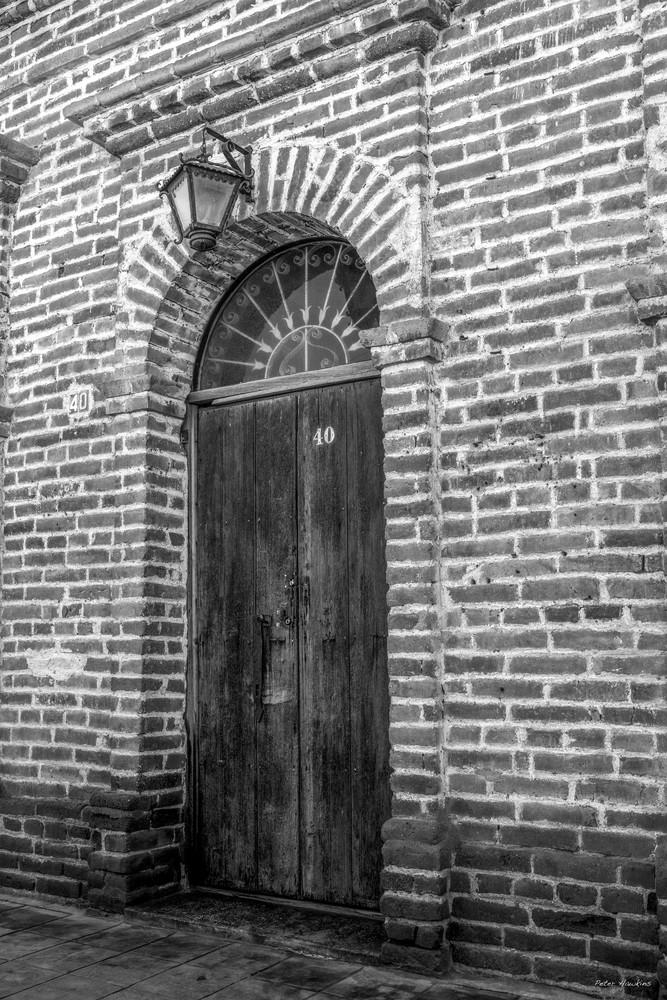 Mexico, La Paz, Todo Santos, Artitechure, Door