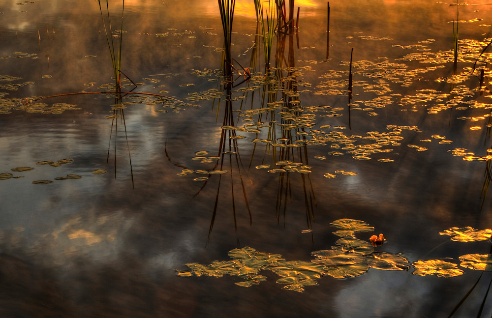 Sunrise On Fern Lake Photography Art | Michael Sandy Photography