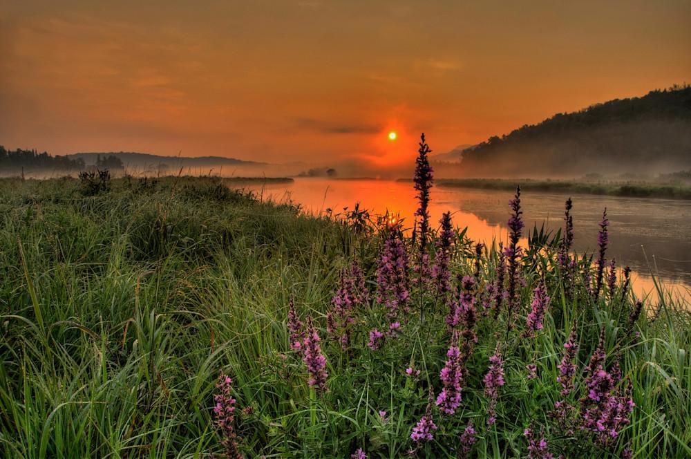 Sunrise on the Saranac