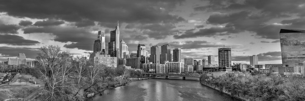 Philadelphia Skyline Photography Art | Michael Sandy Photography