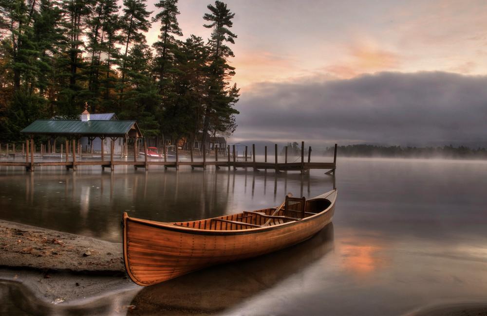 October Sunrise on Huddle Bay