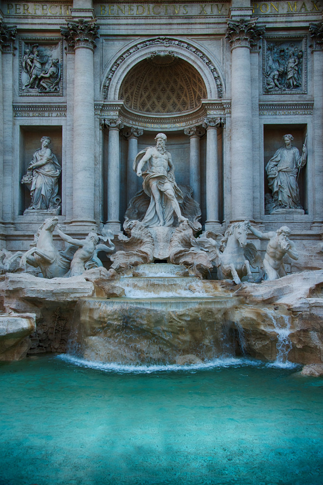 Trevi Fountain, Rome Photography Art | Michael Sandy Photography