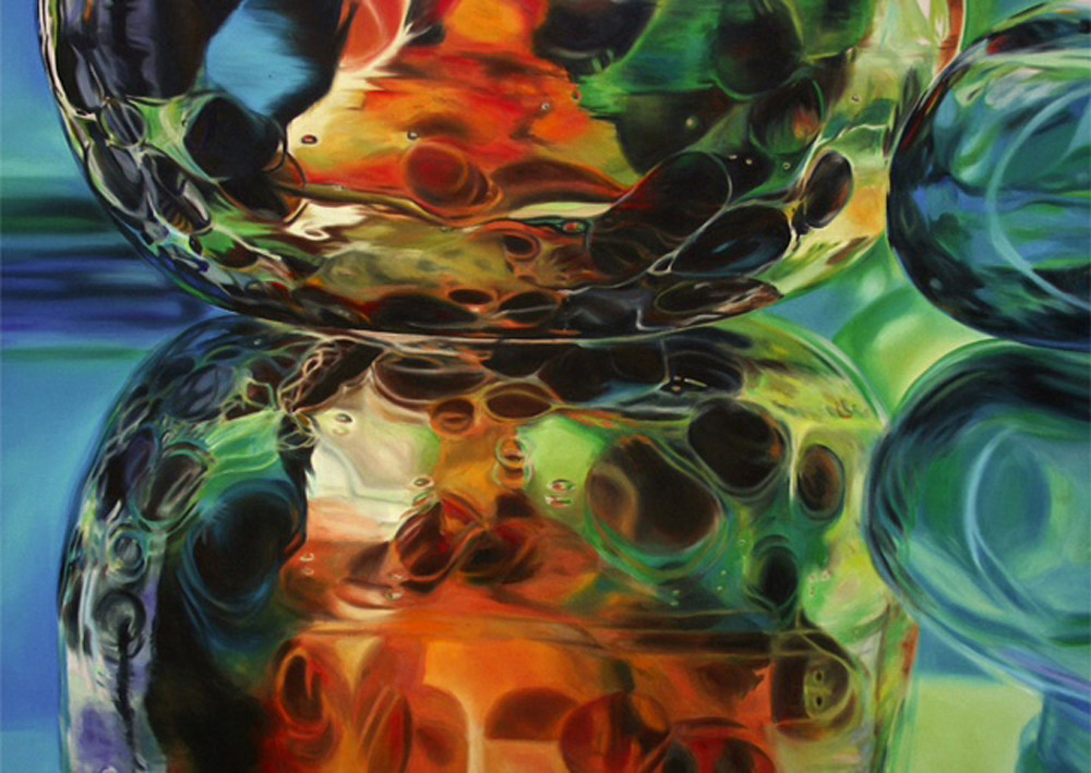 Brown Leopard Glass