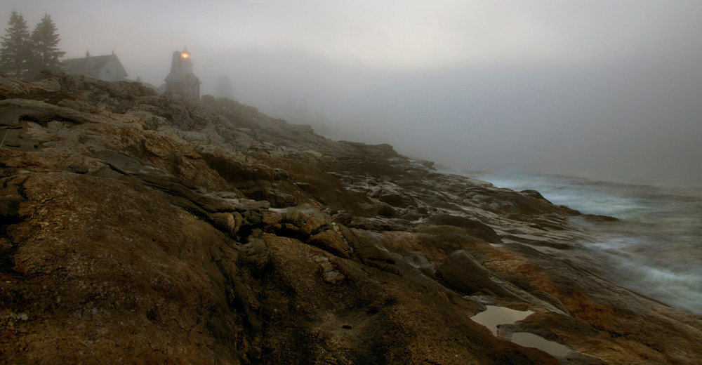 First Light On Pemaquid Art | Michael Sandy Photography