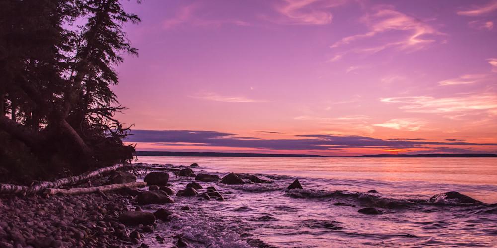Dusk at Waskesiu Lake