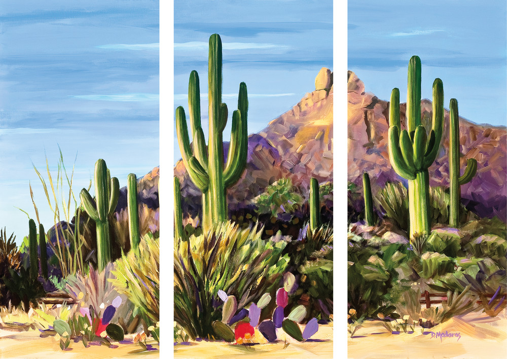 First Light | Desert Triptych | Diana Madaras