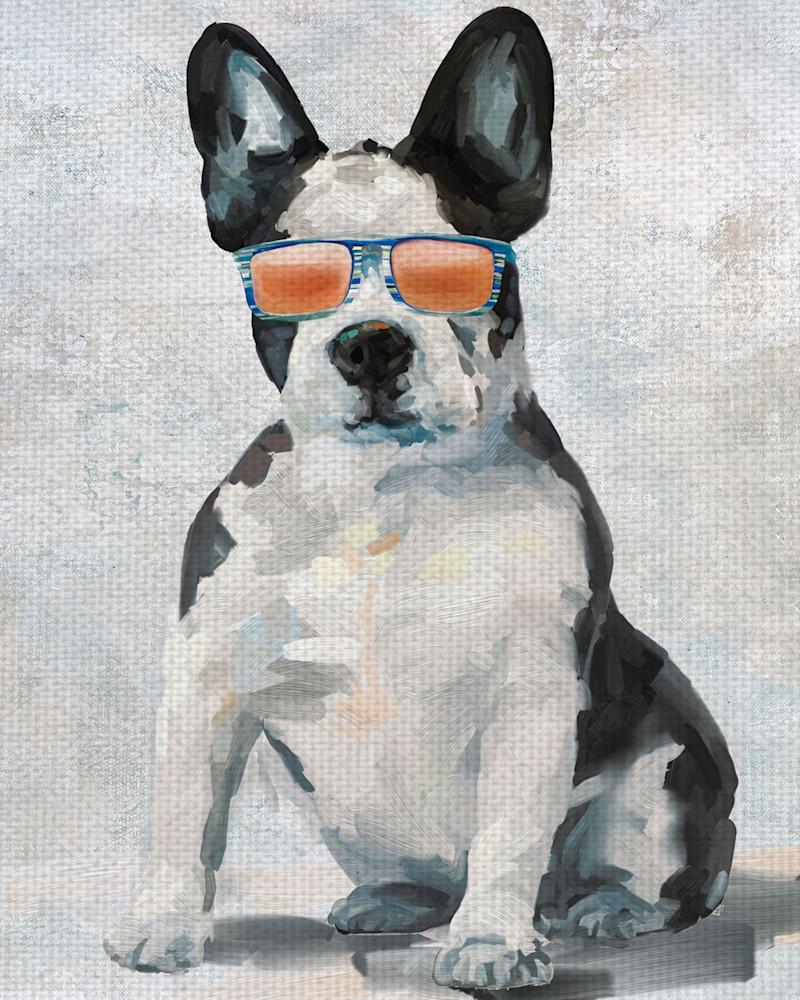 Shady Pups I by Studio Arts Wrapped Canvas Art Print