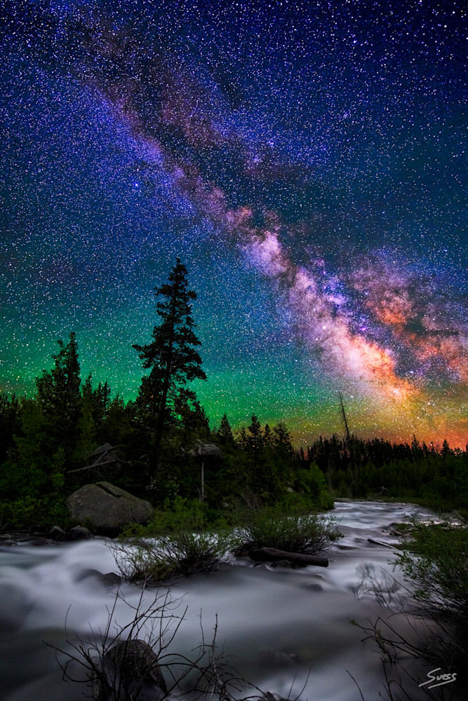 Milky Way over Milky Water