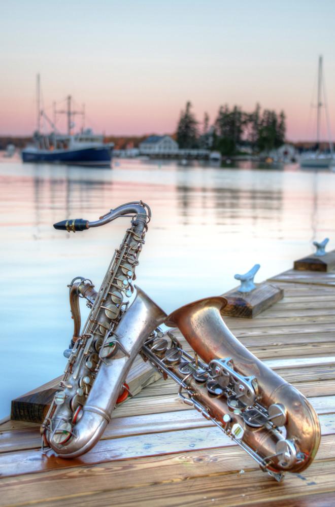 Harbor Sunrise Photography Art | Instrumental Art